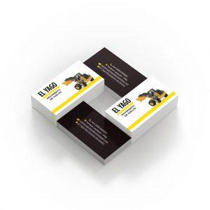 tarjetas personales constructora