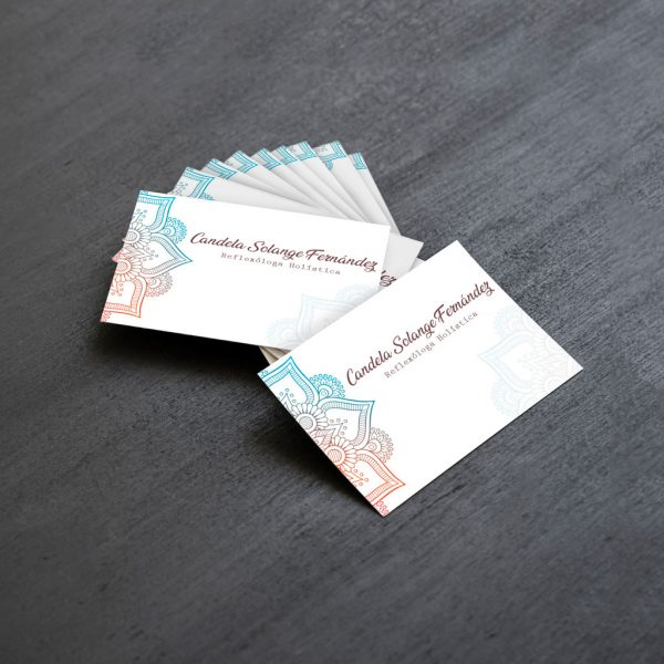 tarjetas personales reflexologa