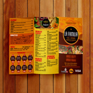 folletos color tríptico exterior