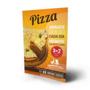 volantes color pizza